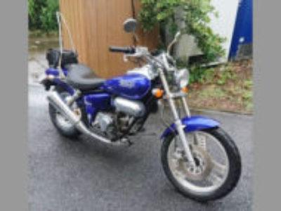 練馬区大泉町で原付アメリカンバイクのホンダ マグナ50を無料引き取りと処分と廃車手続き代行