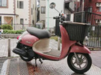 渋谷区笹塚で原付バイクのヤマハ ビーノモルフェを無料で引き取り処分