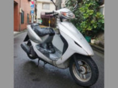 板橋区清水町で原付バイクのホンダ スマートDioを無料引き取り処分と廃車