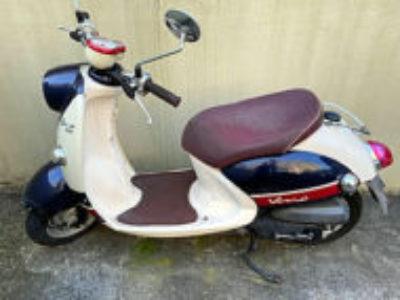 伊勢原市高森で原付バイクのヤマハ ビーノFI DXを無料引き取りと処分