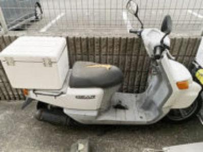 川崎市幸区南加瀬で原付バイクのヤマハ ギアを無料引き取り処分と廃車