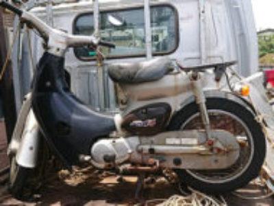 横浜市金沢区富岡西で原付バイクのホンダ リトルカブを無料引き取り処分と廃車