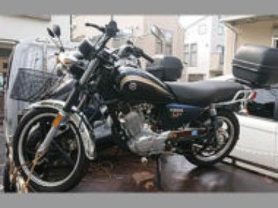 世田谷区船橋で125ccバイクのヤマハ YB125SP ネイビー色を無料で引き取りと処分
