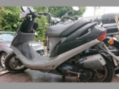 練馬区春日町で原付バイクのホンダ スーパーDioを無料引き取り処分と廃車手続き代行