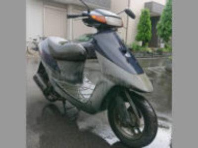 川口市上青木2丁目で原付バイクのスズキ レッツ2を無料と引き取り処分
