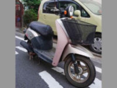 横浜市鶴見区上末吉で原付バイクのホンダ トゥデイを無料引き取りと処分