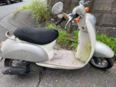 横浜市緑区十日市場町で原付バイクのクレアスクーピーを無料で引き取りと処分