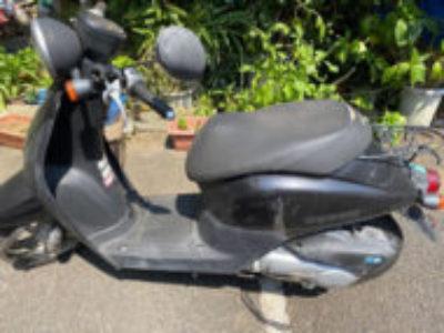 川口市南町で原付バイクのホンダ トゥデイ FIを無料で引き取り処分