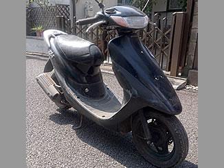 東京市ひばりが丘で無料で引き取り処分と廃車をした原付バイクのホンダ ライブDio ZX
