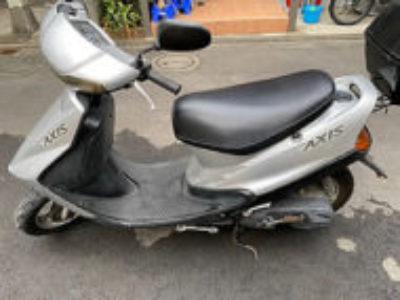 足立区綾瀬で原付バイクのヤマハ アクシス90を無料で引き取り処分