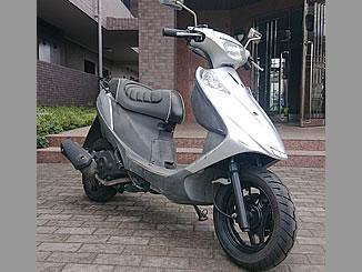 所沢市山口で無料で引き取り処分と廃車をした原付バイクのスズキ アドレスV125G