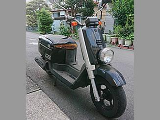 平塚市馬入本町で無料で引き取り処分と廃車をした原付バイクのヤマハ VOX DX