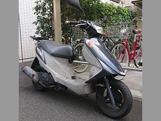戸田市下前で無料で引き取り処分と廃車をした原付バイクのスズキ アドレスV125G
