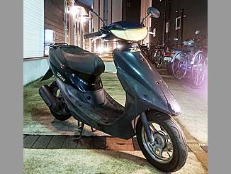足立区関原で無料で引き取り処分と廃車をした原付バイクのホンダ ライブDio S(BB-AF34型) ブラック