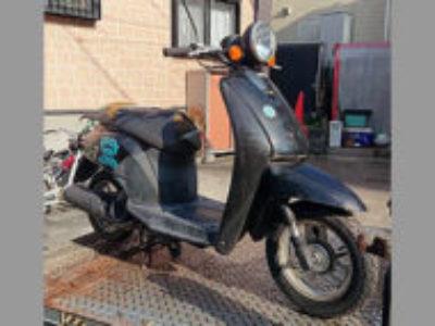 川口市東本郷で原付バイクのホンダ トゥデイを無料引き取り処分と廃車