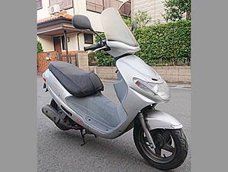 浦安市入船で無料で引き取り処分と廃車をした原付バイクのスズキ アドレス110