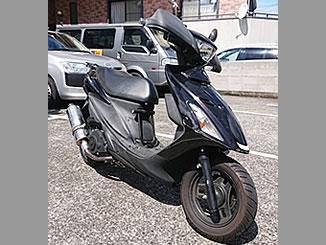 宇都宮市天神で無料で引き取り処分と廃車をした原付バイクのスズキ アドレスV125S