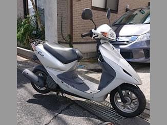 柏市青葉台で無料で引き取り処分と廃車をした原付バイクのホンダ スマートDio