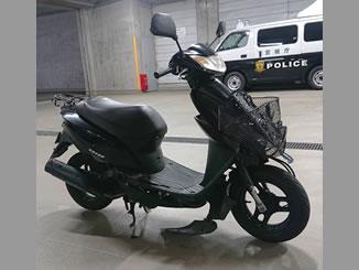 東京都中央区日本橋兜町で無料で引き取りと処分をした原付バイクのホンダ Dio FI