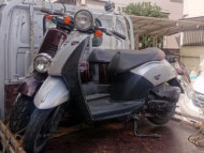 さいたま市南区内谷で原付バイクのホンダ トゥデイ DXを無料で引き取り