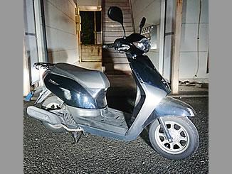 群馬県高崎市上並榎町で無料で引き取り処分と廃車手続き代行をした原付バイクのホンダ タクト ベーシック
