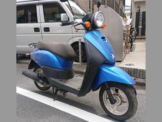 立川市羽衣町で無料で引き取り処分と廃車をした原付バイクのホンダ トゥデイ FI
