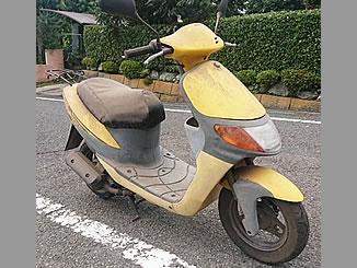 町田市成瀬で無料で引き取り処分と廃車をした原付バイクのスズキ レッツ
