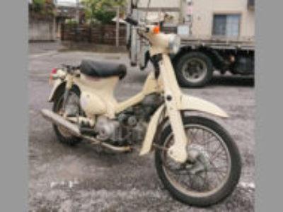 松戸市幸谷で原付バイクのホンダ リトルカブを無料で引き取り処分