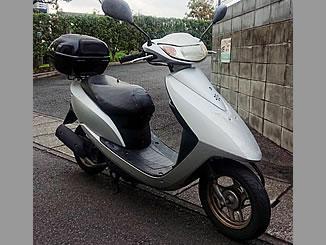 草加市瀬崎で無料で引き取り処分と廃車をした原付バイクのホンダ Dio4サイクル