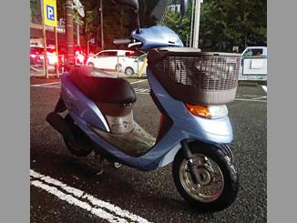 和光市白子で無料で引き取り処分と廃車をした原付バイクのホンダ Dio チェスタ