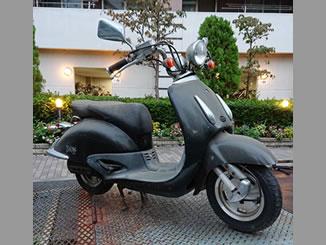横浜市港北区新横浜で無料で引き取り処分と廃車をした原付バイクのホンダ ジョーカー50