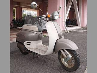 江東区南砂で無料で引き取り処分と廃車をした原付バイクのホンダ ジョルノ