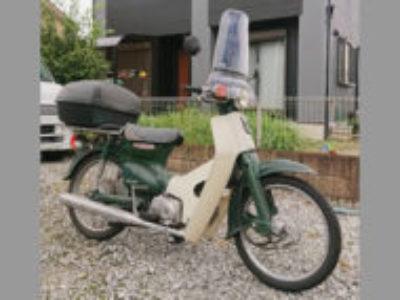 深谷市武蔵野で原付バイクのホンダ スーパーカブ50を無料で引き取り処分