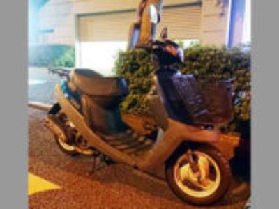 多摩市永山で原付バイクのヤマハ JOG アプリオを無料引き取り処分と廃車