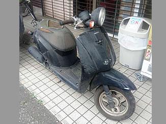 足立区加賀で無料で引き取り処分と廃車手続き代行をした原付バイクのホンダ 初代トゥデイ パールプロキオンブラック