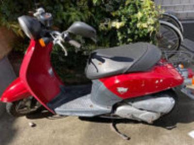 東京都葛飾区の原付バイク ホンダ 初代トゥデイを無料処分と廃車手続き代行