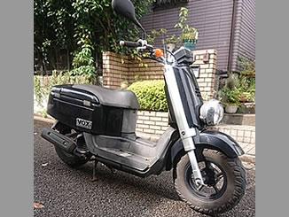 千葉市稲毛区で無料で引き取り処分と廃車手続きを無料でした原付バイクのヤマハ VOX