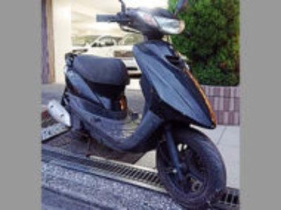 川崎市川崎区で原付バイクのヤマハ JOG ZRを無料で引き取り処分と廃車手続き代行