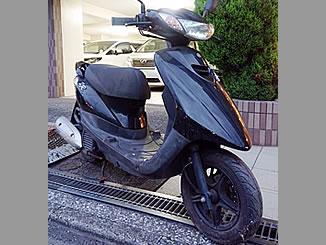 川崎市川崎区で無料で引き取り処分と廃車手続き代行をした原付バイクのヤマハ JOG ZR