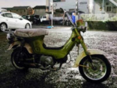 東京都足立区で原付バイクのホンダ シャリー70を無料で引き取り処分と廃車手続き代行