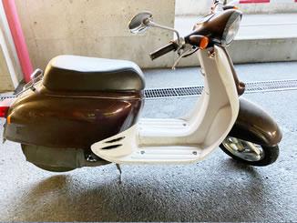群馬県前橋市三俣町で無料で引き取り処分と廃車手続き代行をした原付バイクのホンダ ジョルノ