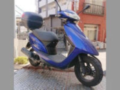 大田区西蒲田で原付バイクのホンダ Dio FIを無料で引き取り処分と廃車手続き代行