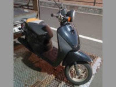 浦安市猫実で原付バイクのホンダ トゥデイ FI パールプロキオンブラックを無料で処分と廃車手続き代行しました