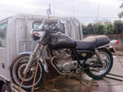 武蔵村山市で250ccバイクのスズキ ボルティ Type1 ブラック色を無料で引き取り処分と廃車手続き代行