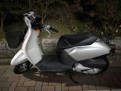 足立区西保木間で原付バイクのホンダ トゥデイ(2005年モデル)を無料で引き取り処分と廃車手続き代行