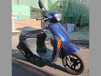 横浜市神奈川区神大寺で無料で引き取り処分と廃車手続き代行をした原付バイクのスズキ レッツ5G