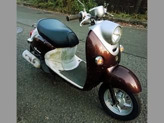 町田市金井ヶ丘で無料で引き取り処分と廃車をした原付バイクのヤマハ ビーノ FI