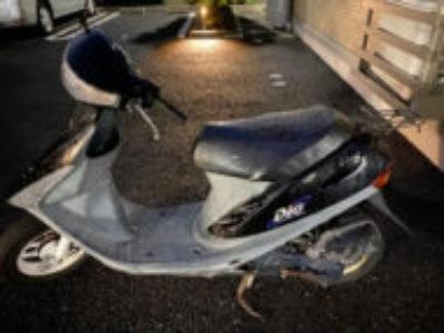 足立区古千谷本町で原付バイクのホンダ スーパーDioを無料引き取り処分と廃車手続き代行