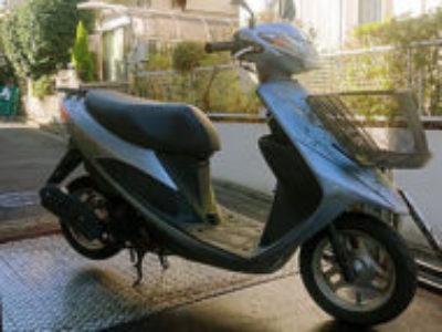 横浜市青葉区で原付バイクのスズキ アドレスV50Gを無料引き取り処分と廃車手続き代行