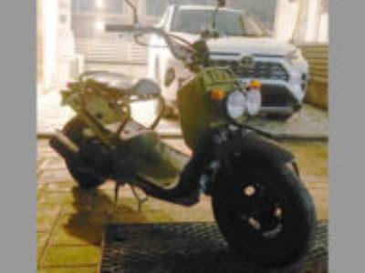 江戸川区で原付バイクのホンダ ズーマー DX(JBH-AF58)を無料引き取り処分と廃車手続き代行しました